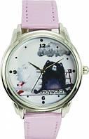 Наручные женские часы AndyWatch. Коты на лавке