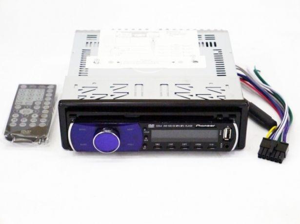 Автомобильная магнитола 1DIN DVD-5250 RGB панель + пульт управления | Автомагнитола
