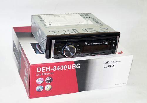 Автомобильная магнитола 1DIN DVD-8400 RGB панель + пульт управления | Автомагнитола