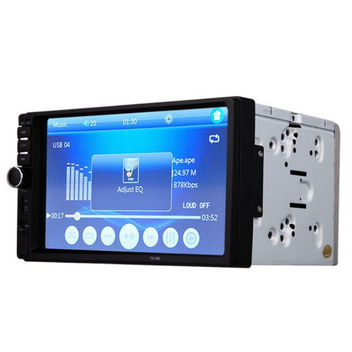 Автомобильная магнитола MP5 2DIN 7018 USB + рамка | Автомагнитола
