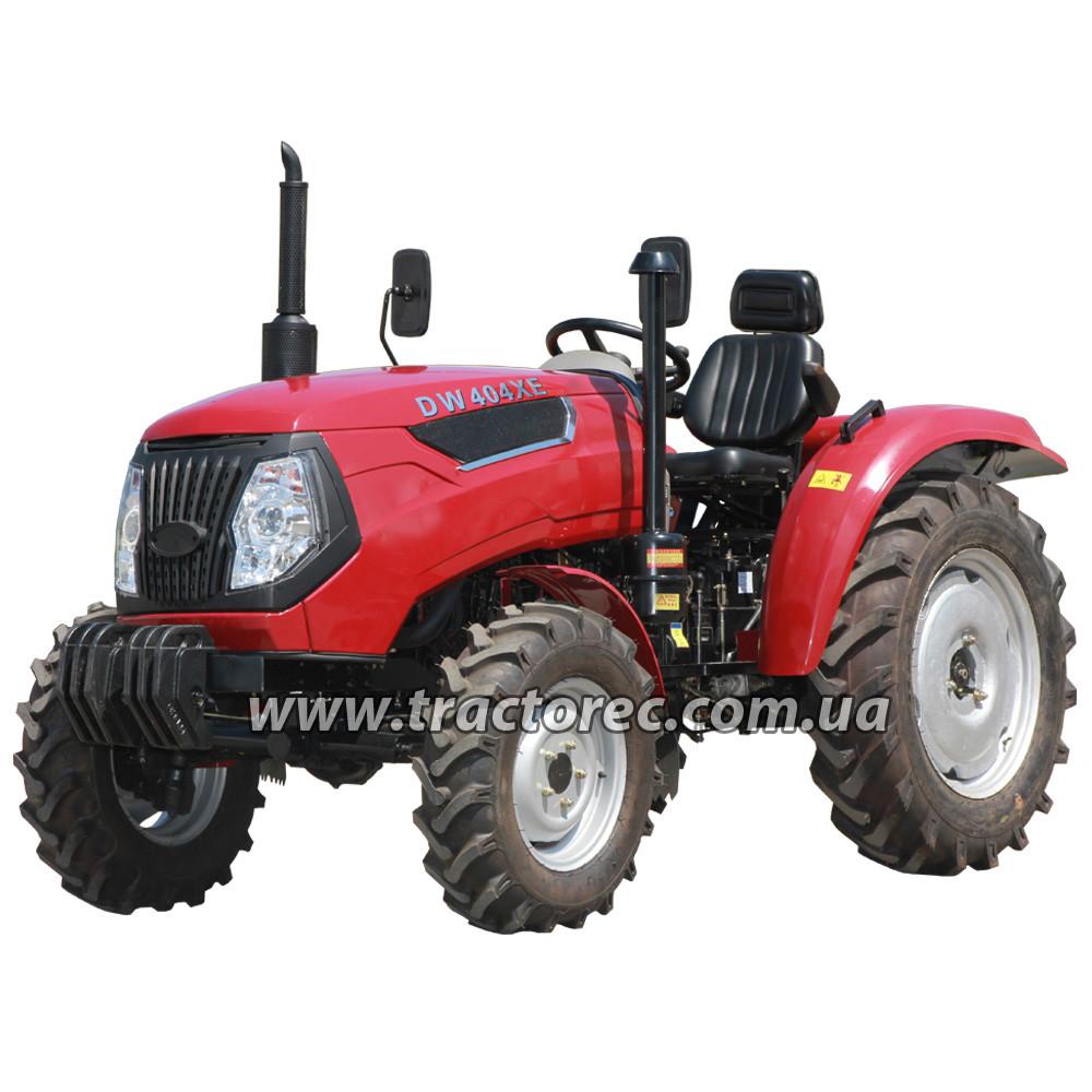 Трактор (Мини-трактор) DW404XE, 40 л.с, 4 цил, ГУР,  НОВАЯ МОДЕЛЬ! БЕСПЛАТНАЯ ДОСТАВКА!