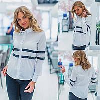 Женская рубашка / хлопок / Украина 35-261