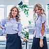Женская рубашка / хлопок / Украина 35-264