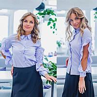 Женская рубашка / хлопок / Украина 35-264, фото 1