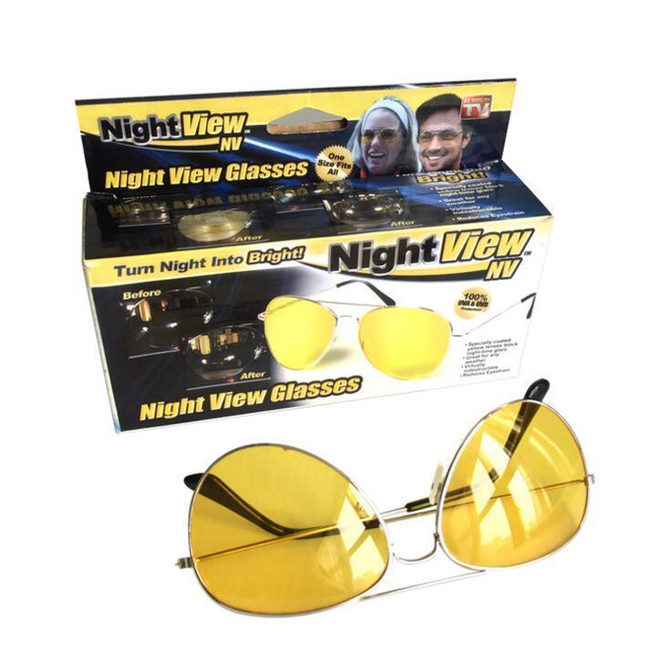 Очки ночного видения для водителей Night View Glasses