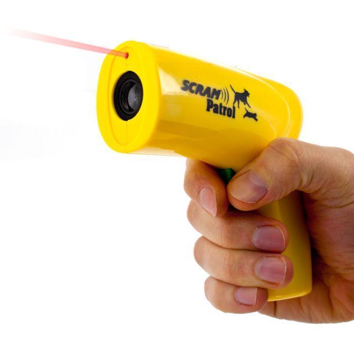 Мощный ультразвуковой отпугиватель собак Scram Patrol 0027