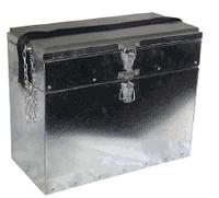 Ящик рыбацкий зимний с отбортованным днищем двухполочный 0121