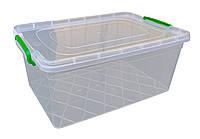 """Харчової контейнер із засувками 15 літрів глибокий """"Горизонт"""", фото 1"""