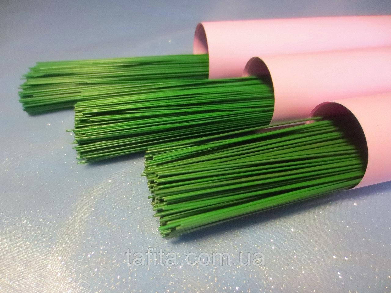 Проволока флорестическая зеленая №30
