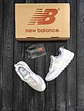 Хайповые Мужские Кроссовки New Balance 574 v2 белые Премиум Качество Стильные Нью Бэлэнс реплика 41 42 43 44р, фото 4