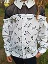 Блуза нарядная с котиками Раяна ТМ Suzie Размеры 122-140, фото 5