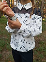 Блуза нарядная с котиками Раяна ТМ Suzie Размеры 122-140, фото 6