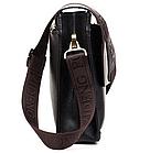 Мужская сумка через плечо POLO VIDENG   Черная, фото 7