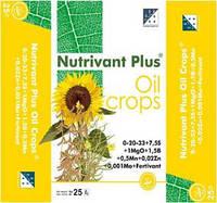 Нутривант Плюс масличный - водорастворимое удобрение для подсолнечника, сои, гречихи