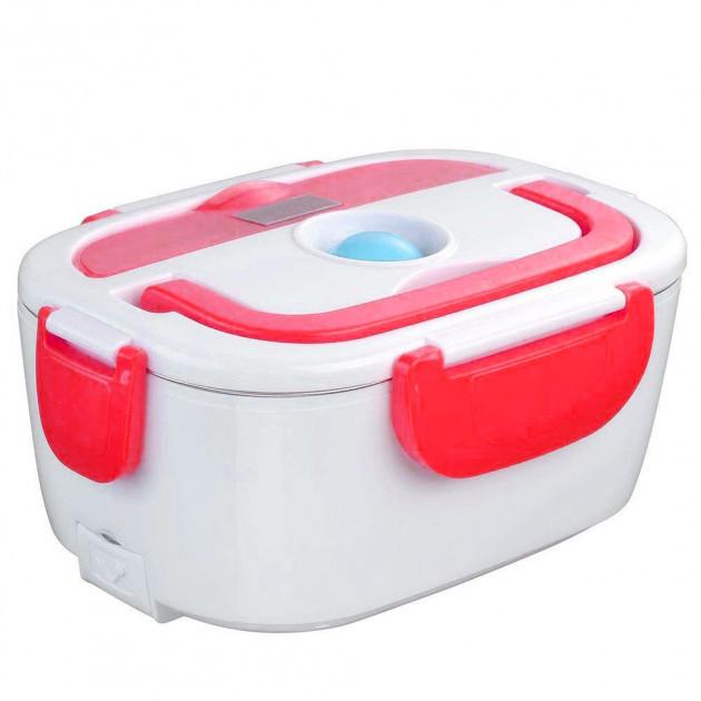 Ланч-бокс з функцією підігріву їжі від мережі Electric lunch box | Червоний