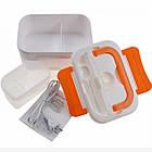 Ланч-бокс з функцією підігріву їжі від мережі Electric lunch box | Червоний, фото 6