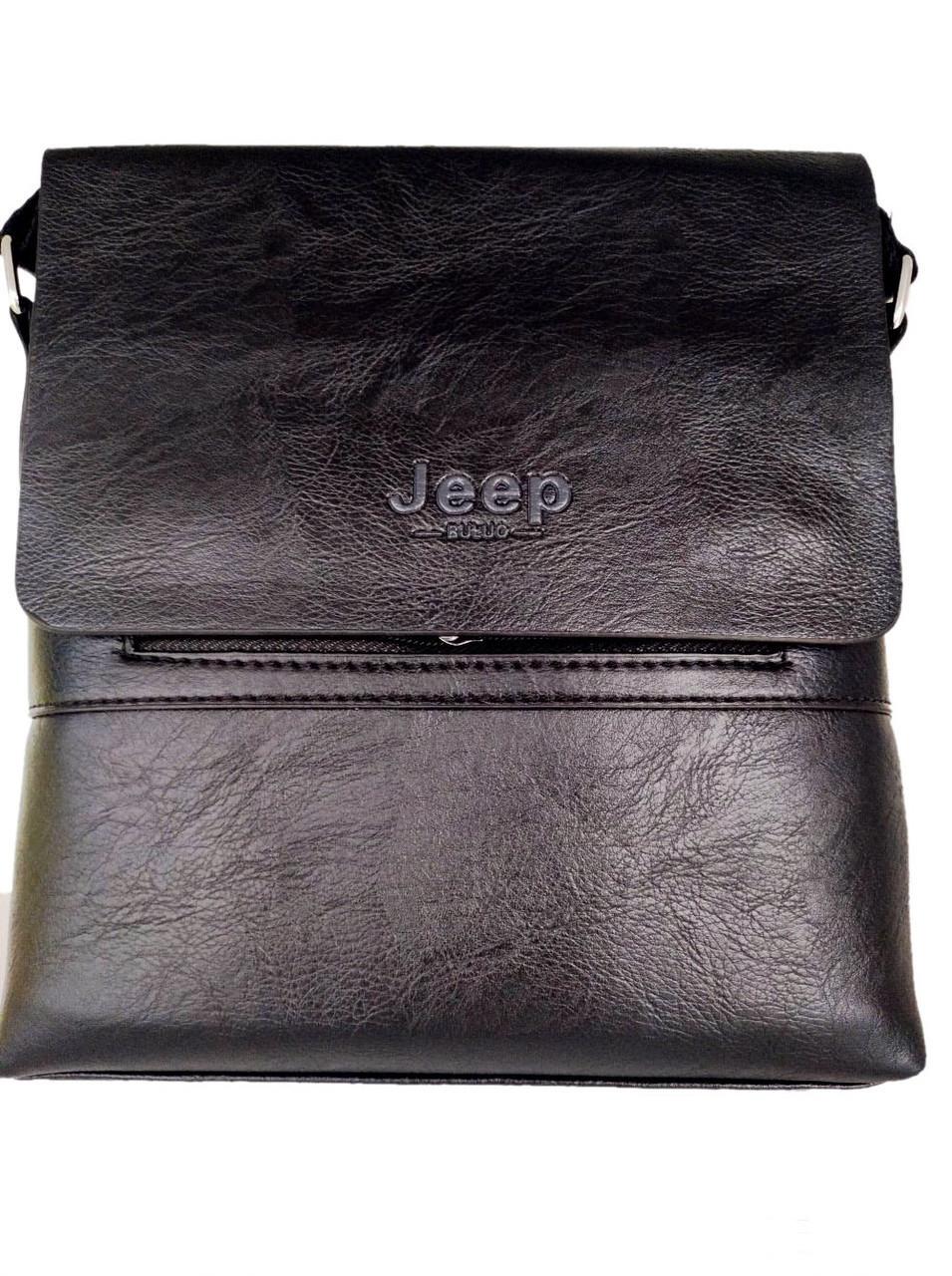 Чоловіча сумка Jeep Buluo 9008 | Чорна