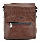 Чоловіча сумка Jeep Buluo 9008 | Чорна, фото 5