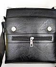 Чоловіча сумка Jeep Buluo 9008 | Чорна, фото 2