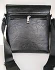 Чоловіча сумка Jeep Buluo 9008 | Чорна, фото 3