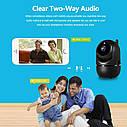 Смарт IP камера Darui mini black 720P. YCC365Plus, фото 7