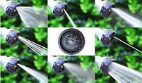 Шланг садовый поливочный X-hose 7.5 метров | Шланг с Водораспылителем | Синий, фото 3