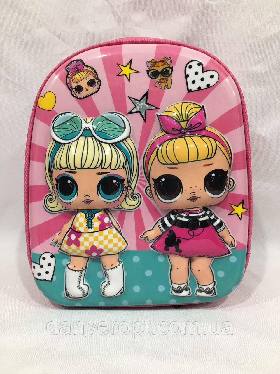 Рюкзак детский модный стильный Лол для девочки размер 29х24x11, купить оптом со склада 7км Одесса