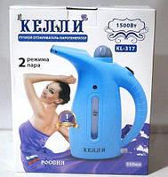 Ручной отпариватель для одежды KELLI KL-317 | Пароочиститель для одежды | Белый, фото 7