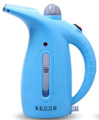 Ручной отпариватель для одежды KELLI KL-317   Пароочиститель для одежды   Синий