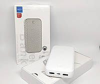 Power bank Внешний аккумулятор Rock 20000mAh P58 с 2 USB Белый, фото 1