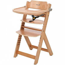 Стільчик для годування Safety Timba Natural Wood