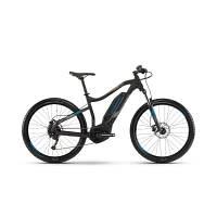 Электровелосипед Haibike SDURO HardSeven 1.0 400Wh, рама S, черный/серый/синий матовый, 2019 (ST) М
