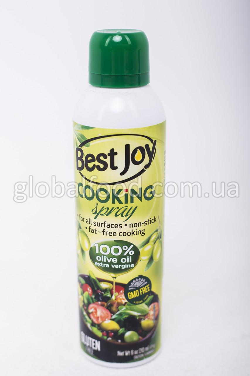 Кулинарный спрей Best Joy Cooking Spray 100% оливковое масло 250мл
