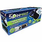 Электрическая беспроводная швабра Spin Maiden для уборки с насадками | Полировщик для уборки, фото 8