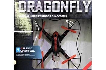 Квадрокоптер Dragonfly 407 | Летающий дрон на пульте управления