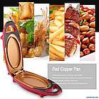 Электросковорода Red Copper 5 minuts chef | Электрическая скороварка, фото 4