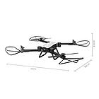 Радиоуправляемый квадрокоптер X9TW c WiFi камерой | Летающий дрон, фото 2