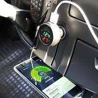 Многофункциональные автомобильные электронные часы VST 706-5, фото 3