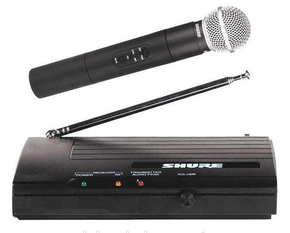 Радиосистема Shure SH200A с ручным радиомикрофоном   Беспроводной микрофон