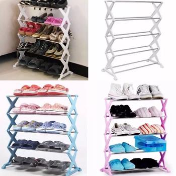 Полка для обуви Shoe Rack на 15 пар   Стойка для хранения обуви