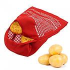 Мешочек для запекания картошки в микроволновке Potato Express, фото 3