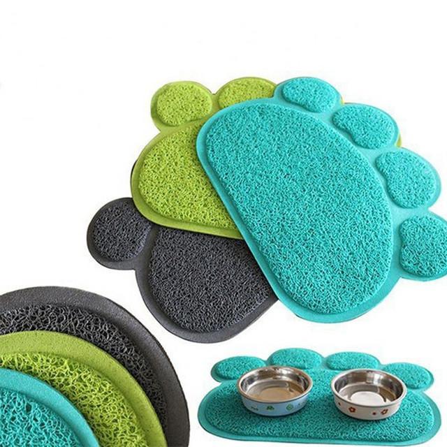 Коврик для собак и кошек Paw Print Litter Mat | Коврик для питомцев