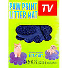 Коврик для собак и кошек Paw Print Litter Mat | Коврик для питомцев, фото 7
