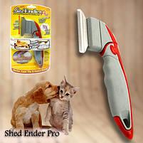 Фурминатор щетка для вычесывания животных Shed Ender Pro | Металлическая расческа для животных, фото 3