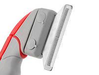 Фурминатор щетка для вычесывания животных Shed Ender Pro | Металлическая расческа для животных, фото 4