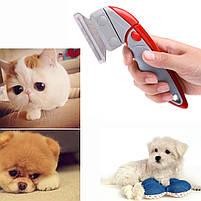 Фурминатор щетка для вычесывания животных Shed Ender Pro | Металлическая расческа для животных, фото 9