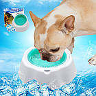 Охлаждающая миска для воды для домашних животных Frosty Bowl, фото 4