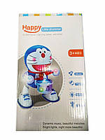 Танцующая игрушка с барабаном Dancing Happy Doraemon, фото 9