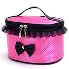 Тканевая косметичка Bow Storage Bag | Органайзер для косметики, фото 5