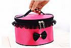 Тканевая косметичка Bow Storage Bag | Органайзер для косметики, фото 7